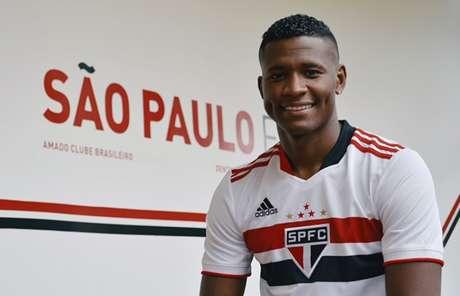 Orejuela seguiu tratamento no REFFIS junto com Hernanes (Foto:  Érico Leonan / saopaulofc.net)
