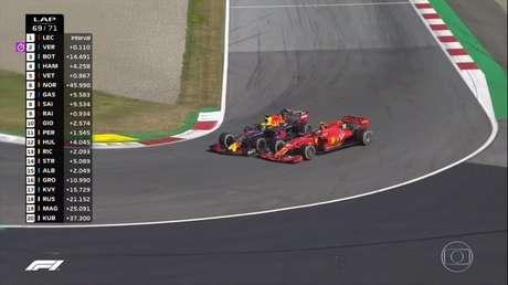 Disputa entre Leclerc e Verstappen marcou GP da Áustria de 2019