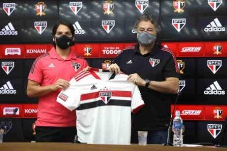 Benítez foi apresentado pelo Tricolor (Foto: Divulgação/São Paulo)