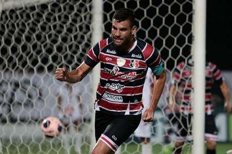 Zagueiro marcou seu primeiro gol na temporada 2021 (Rafael Melo/Santa Cruz)