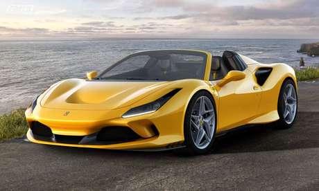 Ferrari F8 Spider: modelo mais vendido da marca custa R$ 4 milhões.