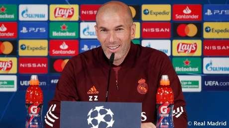 Zidane é cotado para ser o técnico da França (Foto: Divulgação / Site oficial do Real Madrid)