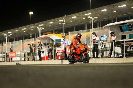 MotoGP 2021 Doha Catar Losail Sábado Tech3 Danilo Petrucci