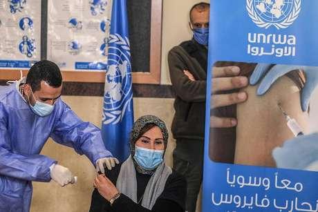 UNRWA oferece ajuda humanitária para o povo palestino