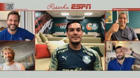 Gustavo Gómez no Resenha ESPN (FOTO: Divulgação)