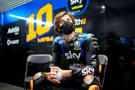 Com testes e duas corridas no Catar, Luca Marini só guiou MotoGP em Losail