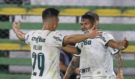 Rony, o novo camisa 7 do Verdão, abriu o placar na Argentina (Cesar Greco)