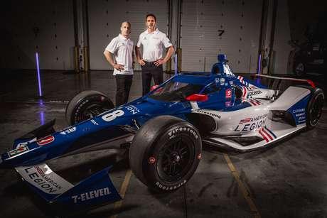 Tony Kanaan apresenta carro da Indy 500