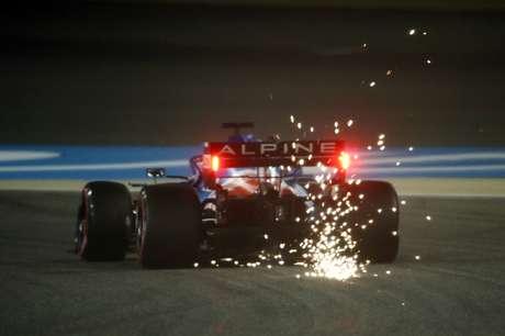 Fernando Alonso abandonou o GP do Bahrein