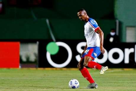 Luiz Otavio fez dupla com Germán Conti, outro reforço do Bahia para a temporada (Felipe Oliveira / EC Bahia)