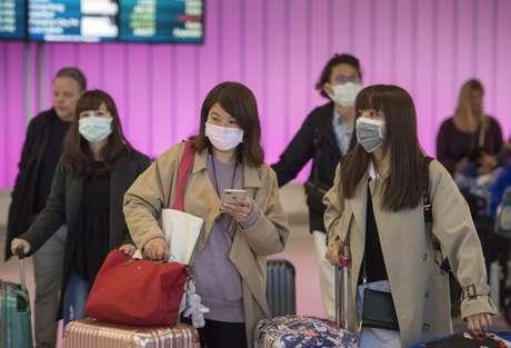 Pandemia de Covid-19 segue causando restrições na Ásia (Foto: AFP)