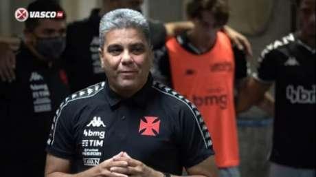 Marcelo Cabo lembrou da importância da classificação para o Vasco (Reprodução/VascoTV)