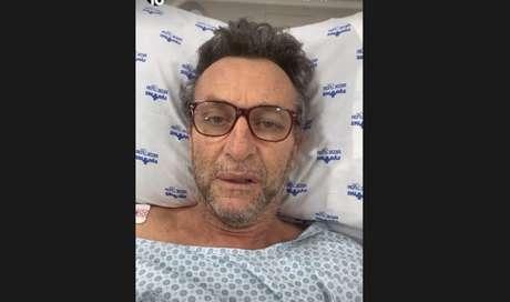 Neto segue internado em hospital de São Paulo (Foto: Reprodução/Instagram)