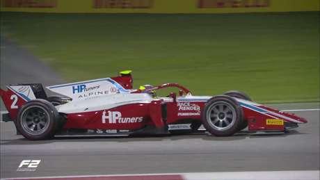 Oscar Piastri venceu logo na sua segunda corrida pela Fórmula 2