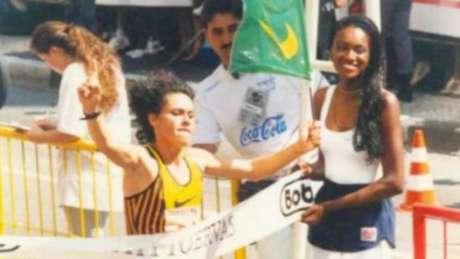 Rosei Machado vence a São Silvestre em 1996 (Foto: Divulgação/CBAt)