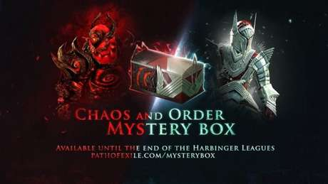 Mystery Boxes em Path of Exile