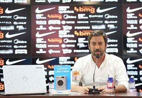 Duílio assumiu a presidência do Corinthians no início deste ano (Foto: Rodrigo Coca/Ag. Corinthians)
