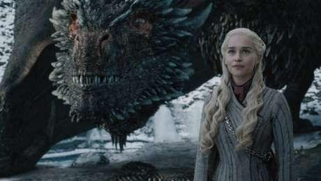 Emilia Clarke, em Game of Thrones; série liderouas indicações ao Emmy 2019