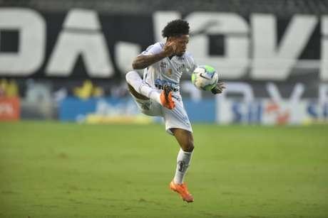 Marinho brilhou na última Copa Libertadores e foi eleito o Rei da América (Crédito: Divulgação/Santos FC)