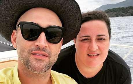 Paulo Gustavo e a irmã Ju Amaral