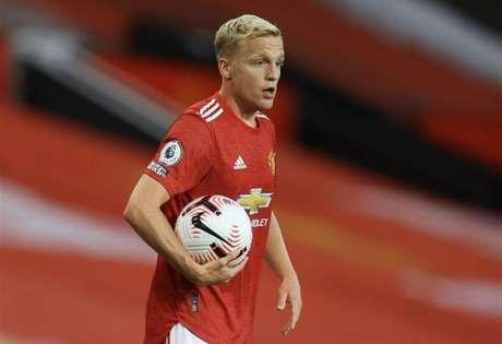 Van de Beek foi a principal contratação dos Red Devils (Divulgação/Manchester United)
