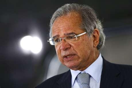 O ministrio da Economia, Paulo Guedes.