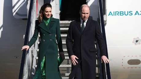 Em compromisso oficial, o duque e a duquesa de Cambridge foram recentemente à República da Irlanda