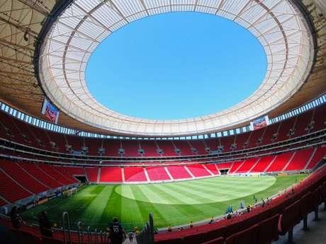 Estádio Mané Garrincha será palco de Flamengo x Palmeiras neste domingo (Foto: Reprodução / Twitter)