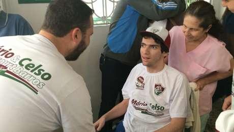Pedro Scudi esteve na última eleição do Fluminense, em 2019 (Foto: Sergio Santana/Lancepress)