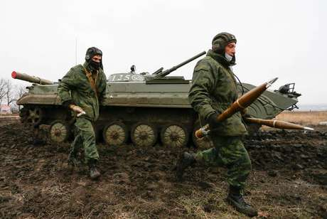 Tensão na fronteira da Ucrânia e Rússia aumenta semana após semana