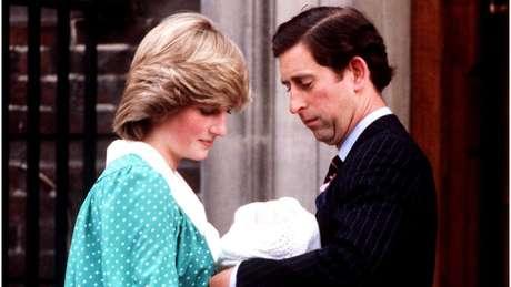 O príncipe William nasceu em 1982 no hospital St Mary's, em Londres
