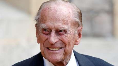 Príncipe Philip em foto de julho de 2020; ele morreu nesta sexta-feira (09/04) aos 99 anos
