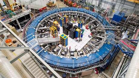 As descobertas vêm do experimento US Muon g-2