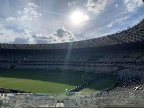 A entidades que fizeram o pedido de paralisação do Mineiro podem acionar a Justiça caso não sejam atendidas-(FOTO: Twitter/Estádio do Mineirão)