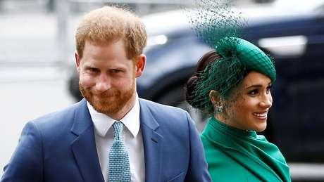 O duque e a duquesa de Sussex agora vivem nos EUA com o filho pequeno, Archie