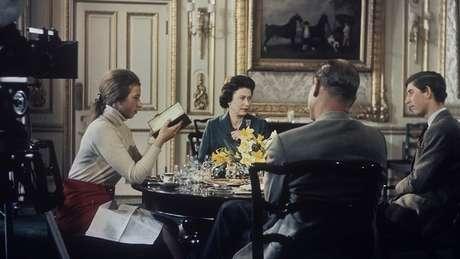 Philip promoveu a produção de um documentário inovador sobre a família real
