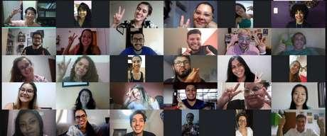 Evento online reúne integrantes do cursinho Nubo