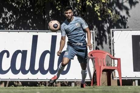 Fernando Pileggi fez dois jogos pelo time profissional do Santos (Foto: Ivan Storti/Santos FC)