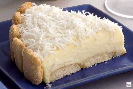Torta holandesa de coco
