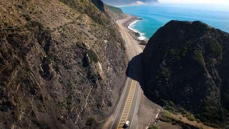 """Com paisagens paradisíacas, o alto custo de vida faz com que o """"sonho californiano"""" não seja para todos"""