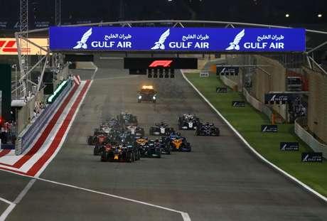 Laragada do GP do Bahrein marcou o início da temporada 2021 da Fórmula 1