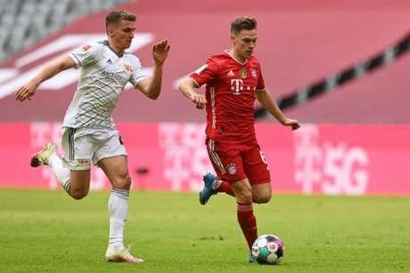 Duelo entre Bayern e Union Berlin foi equilbrado (ANDREAS GEBERT / POOL / AFP)