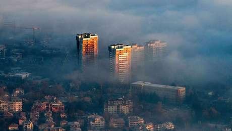 Poluição do ar na Romênia