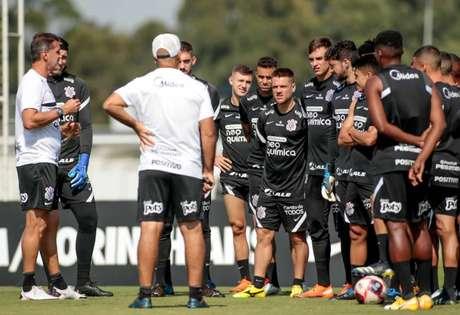 Mancini pode não poupar jogadores neste início de maratona no Paulistão (Foto: Rodrigo Coca/Ag.Corinthians)
