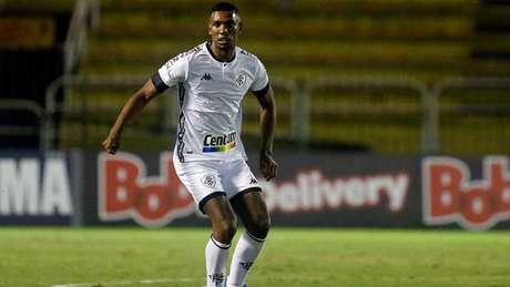 Kanu atuando pelo Botafogo contra o Volta Redonda. Foto: Vitor Silva/Botafogo