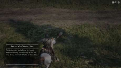 Fique atento ao selecionar suas caças em Red Dead Redemption 2