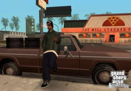 Ryder, um dos personagens de GTA San Andreas