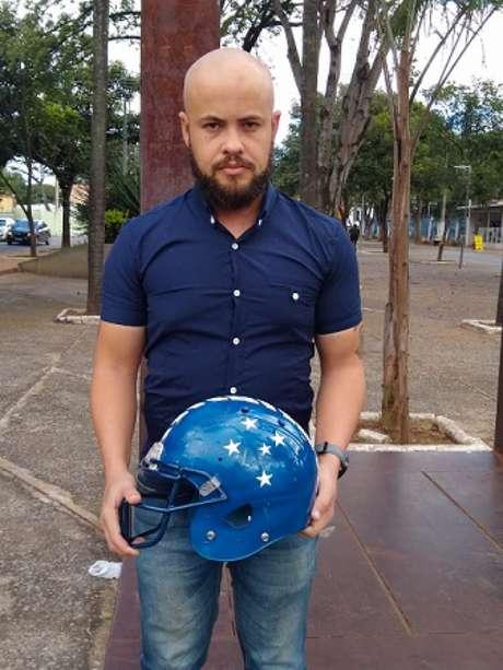 Júlio foi o articulador do projeto que uniu o Betim Bulldogs com o Cruzeiro-(Divulgação/Arquivo pessoal)