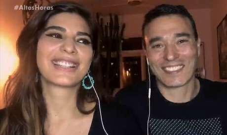 Os jornalistas Andréia Sadi e André Rizek