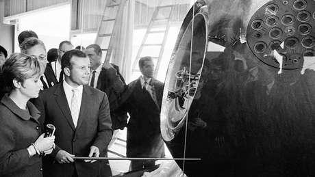 Pequena nave em que Gagarin viajou tinha cerca de dois metros de diâmetro